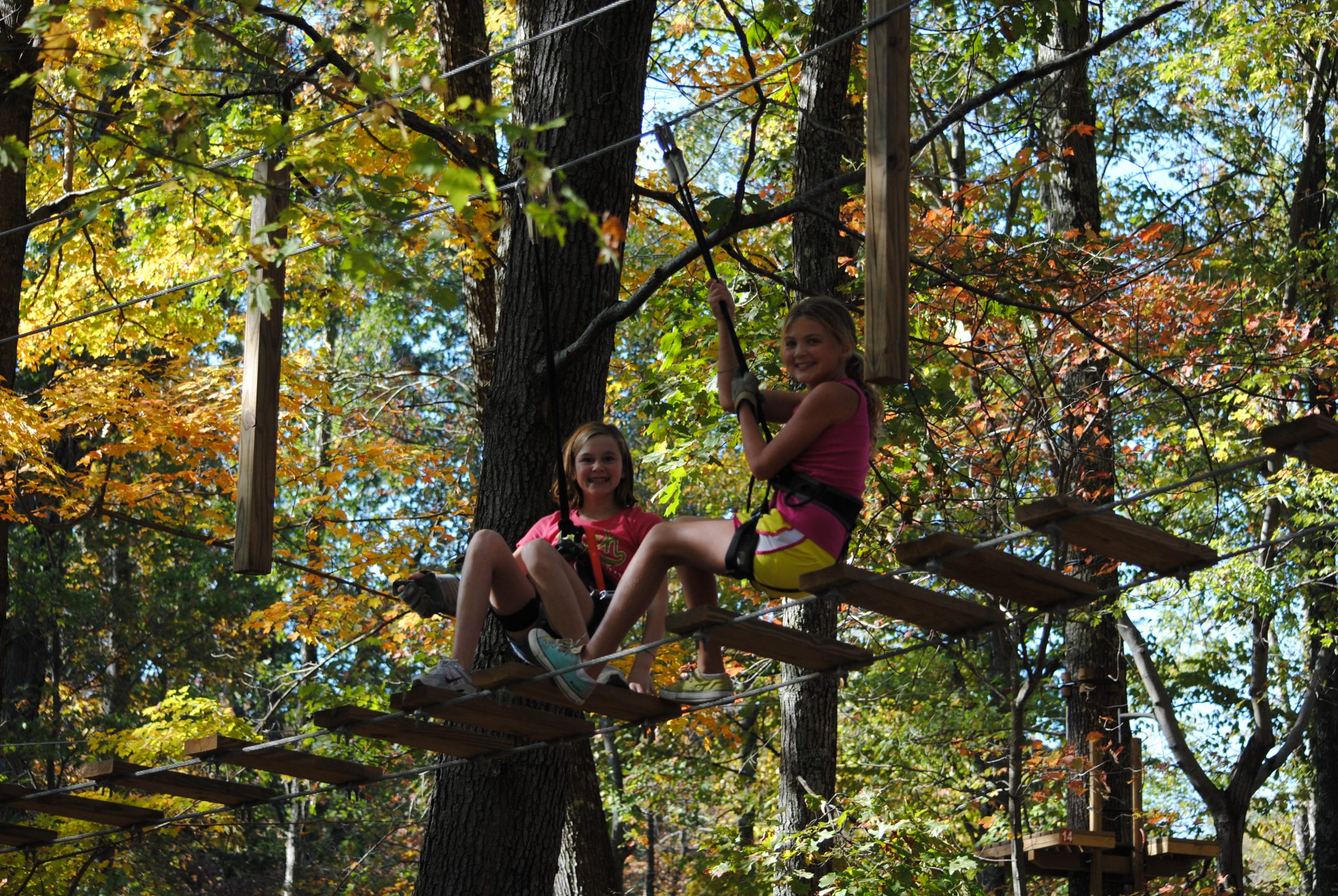 Ziplining for Kids